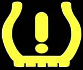 TPMS Tire Pressure Monitoring System Light